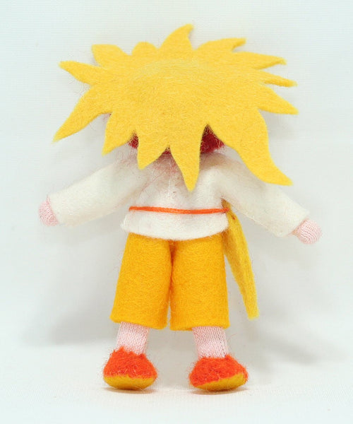 Sun Child (Bendable Felt Doll)