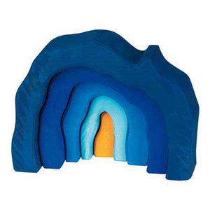 Glueckskaefer Grotto Set - Blue