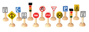 Set Of Traffic Signs And Lights - USA