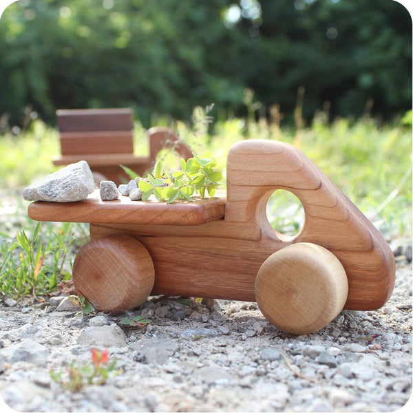 Little Flat Bed Wooden Truck