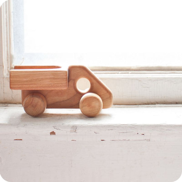 Little Wooden Pick-up Truck