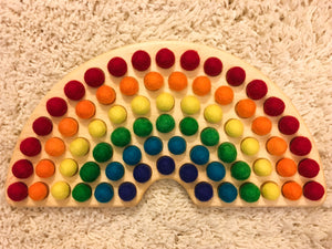 Rainbow Sorting Toy