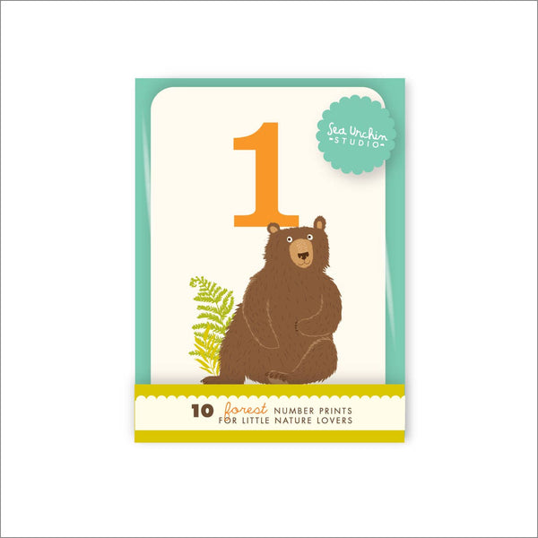 Counting Card Set - Woodland