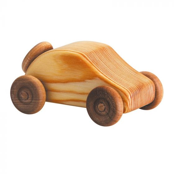 Wooden Toy Ragtop Car Small