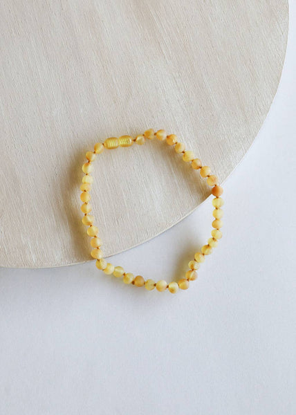 CanyonLeaf Children's Raw Honey Amber Necklace