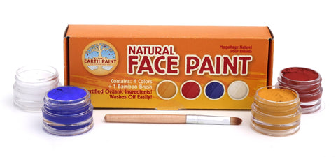 The Mini Natural Face Paint Kit