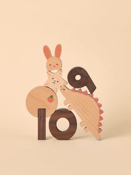 Oioioi Numbers Play Blocks Set