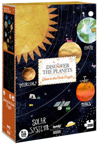 Discover the Planets (200 pcs) - Glow-in-Dark