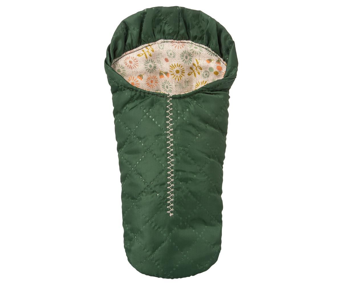 Maileg Sleeping Bag - Green (Small Mouse)