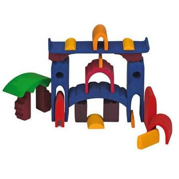 Glueckskaefer Large Stacking Castle (Colored)