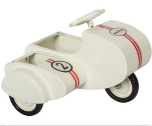 Maileg Metal Scooter with Side Car - Select Color