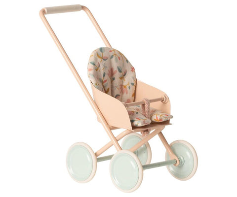 Maileg Stroller - Powder