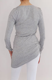 Blusón Bliss gris - COCOI.WS ropa casual mujer