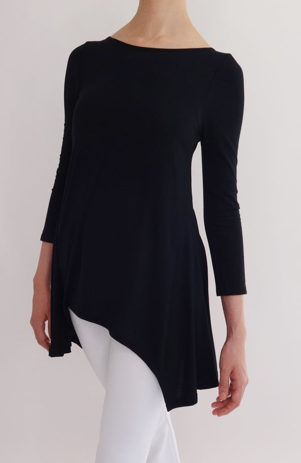 Blusa Lounge negra - COCOI.WS ropa casual mujer