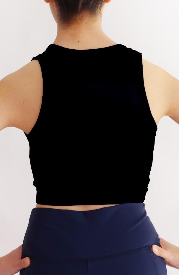 Crop Fit Negro Cocoi