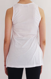 Tank Top Trinny blanca - COCOI.WS ropa yoga mujer