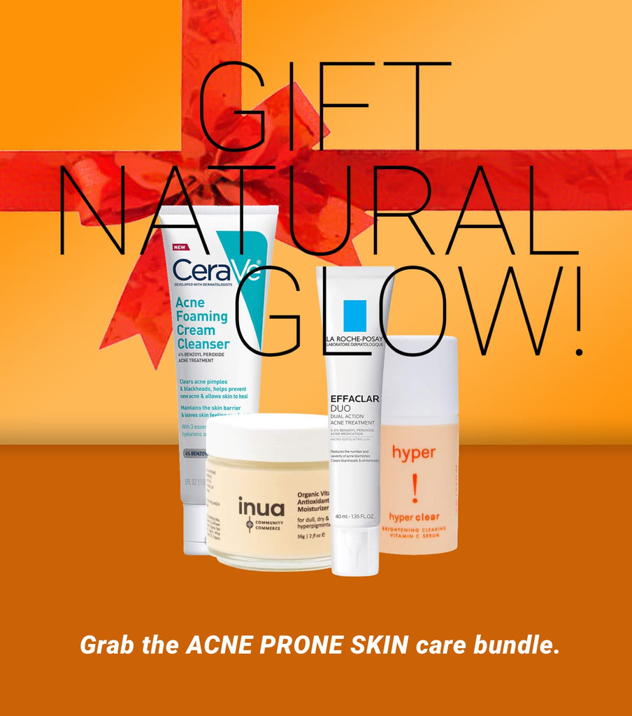 Grab the ACNE PRONE SKIN care bundle