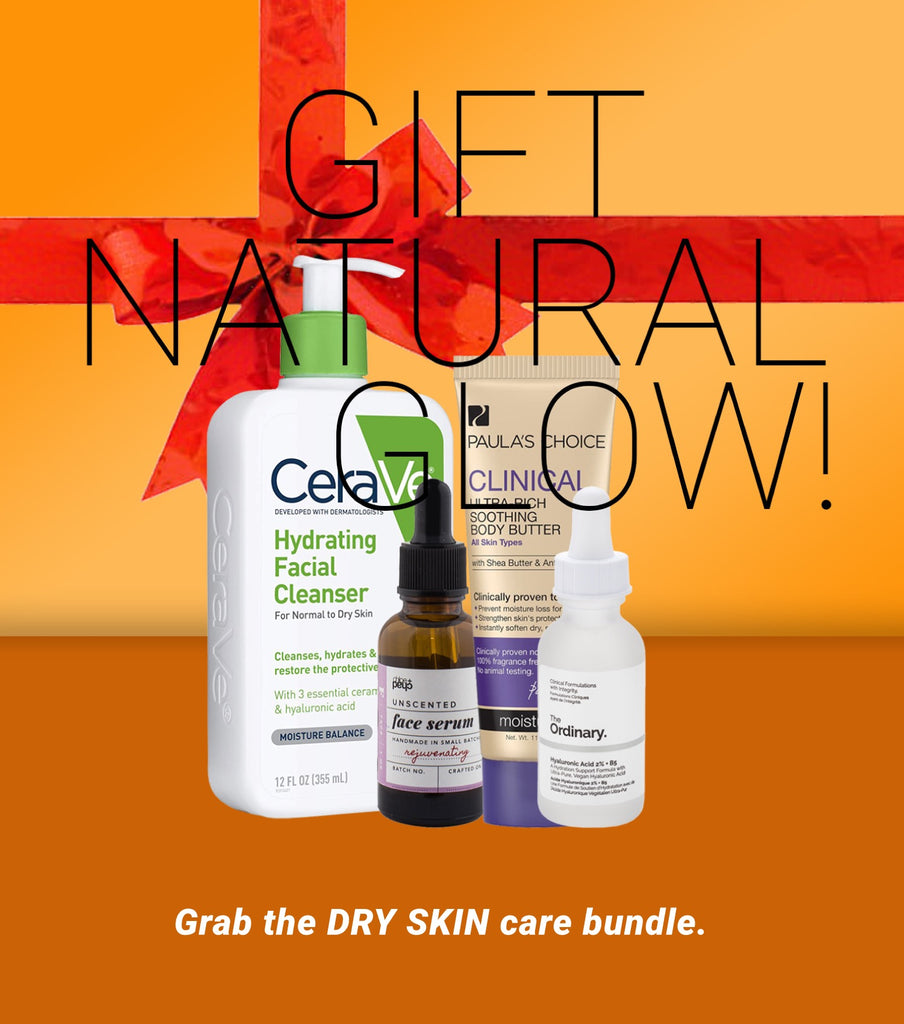 Grab the DRY SKIN care bundle.