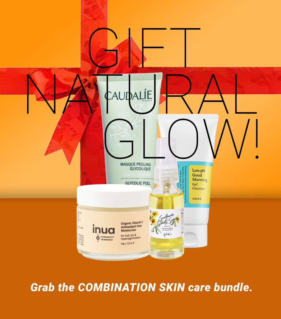 Grab the COMBINATION SKIN care bundle