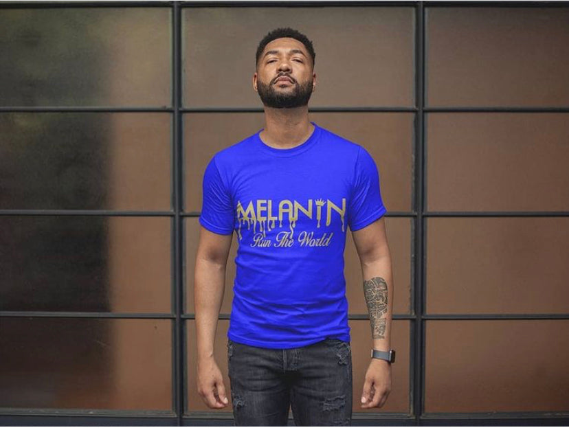 Unisex Melanin Run The World -Tshirt