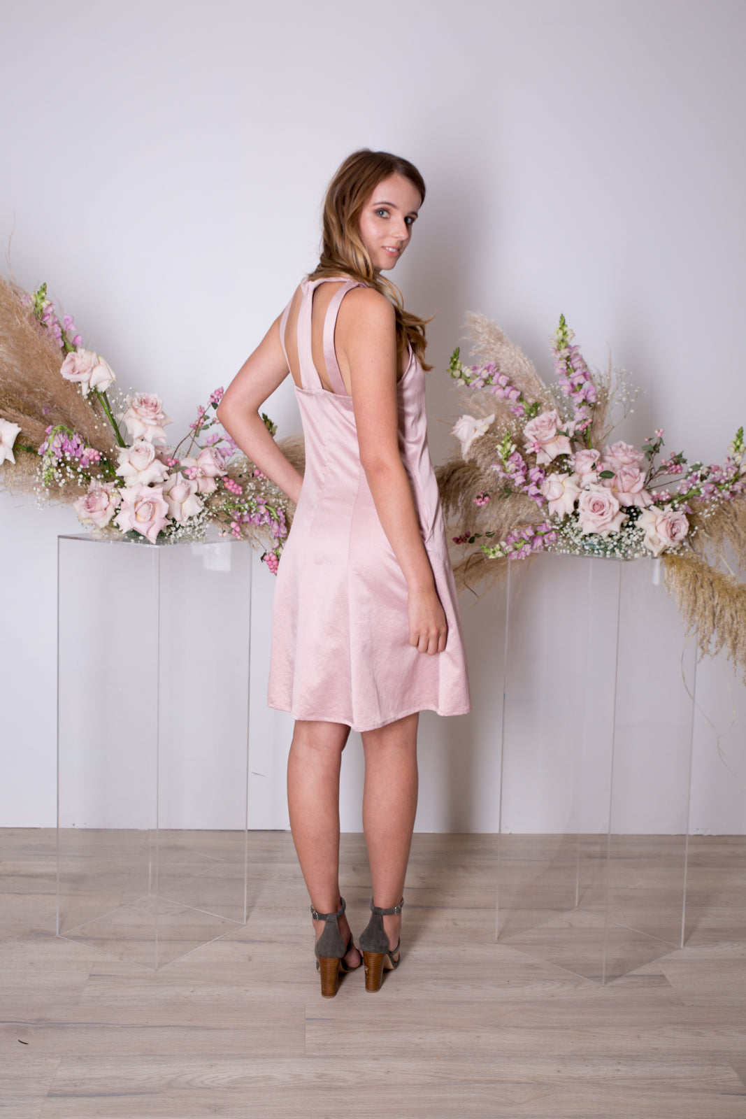 Daniella Dress-Blush