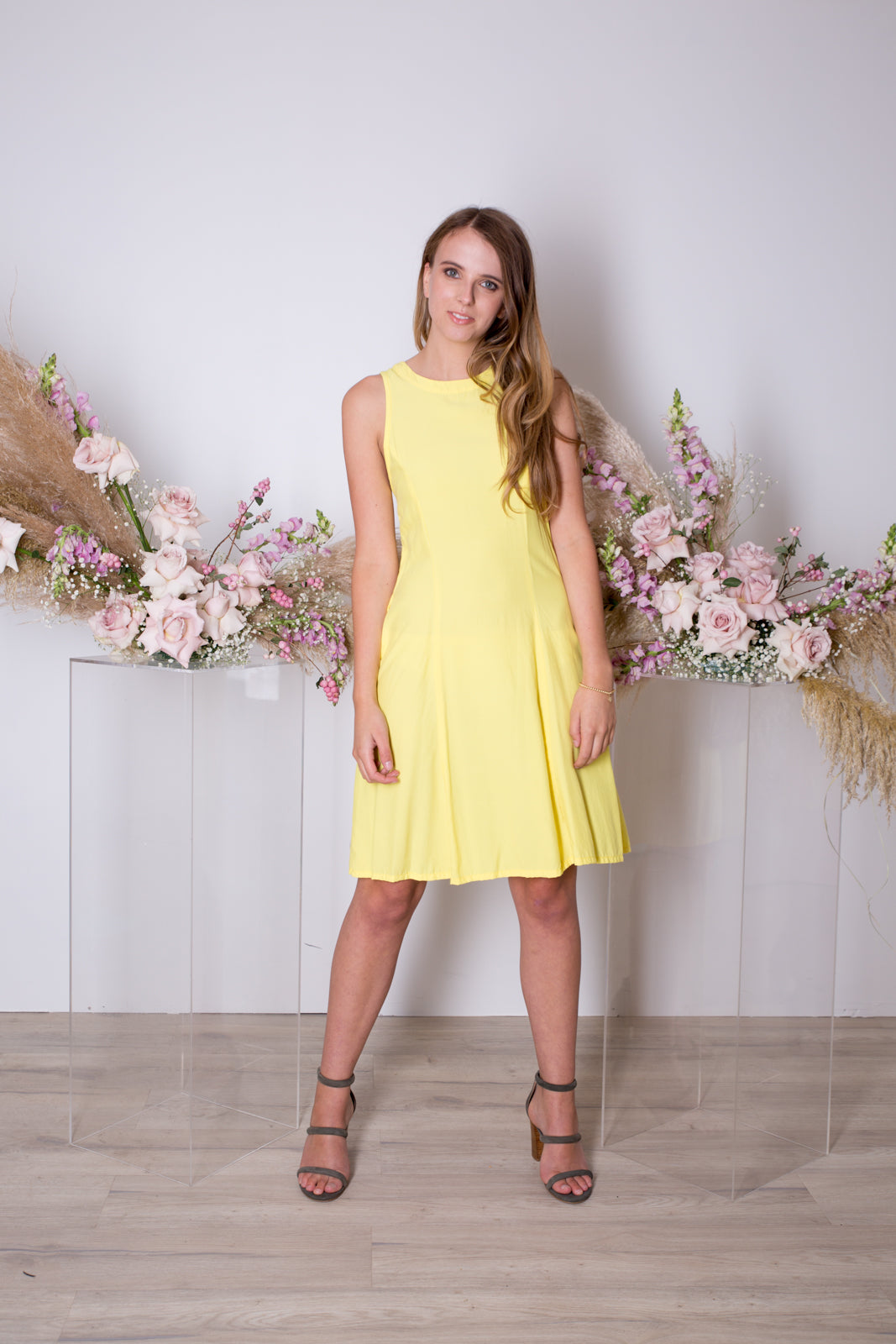 Daniella Dress-Yellow