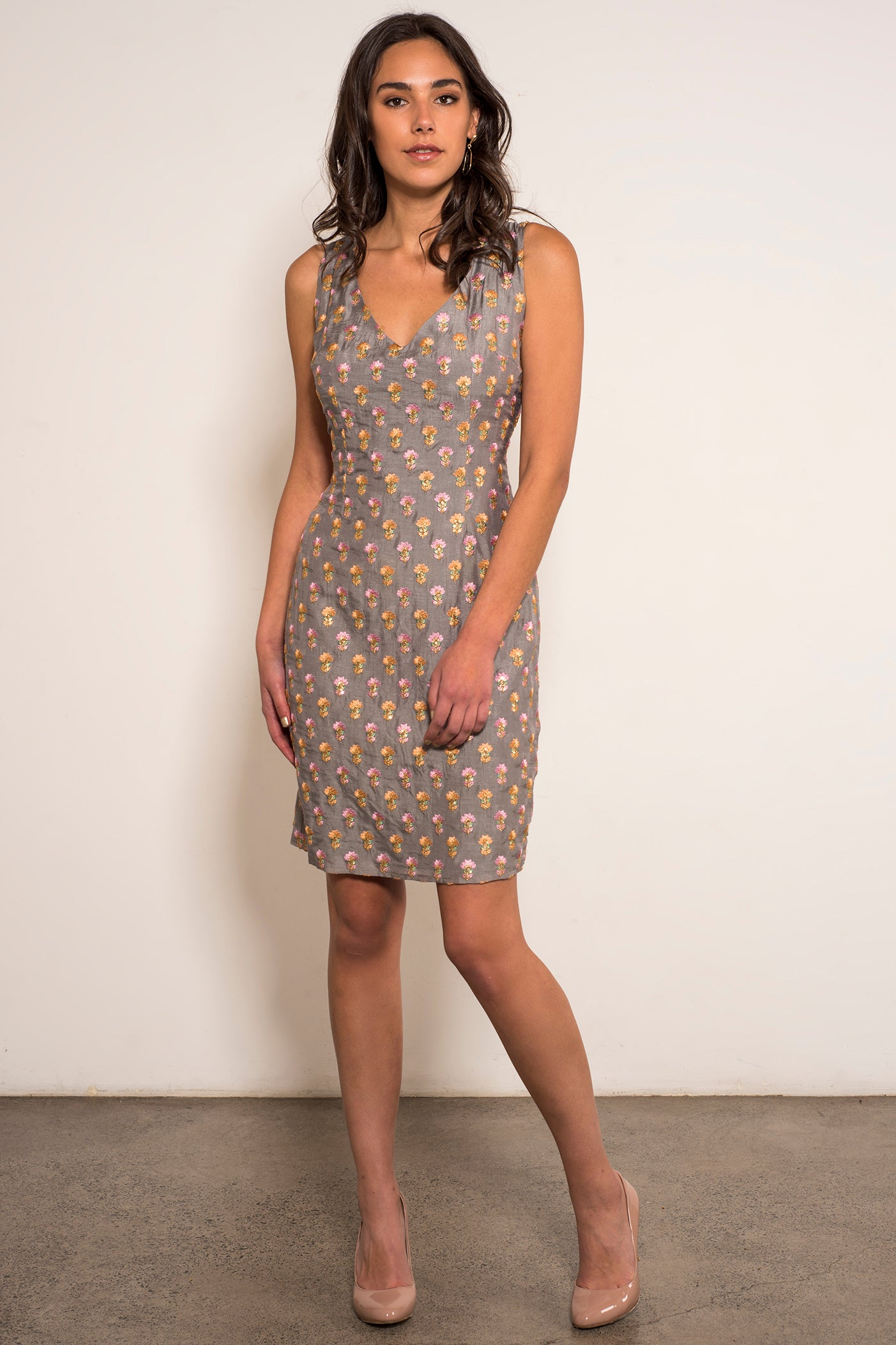 Noa Dress-Grey