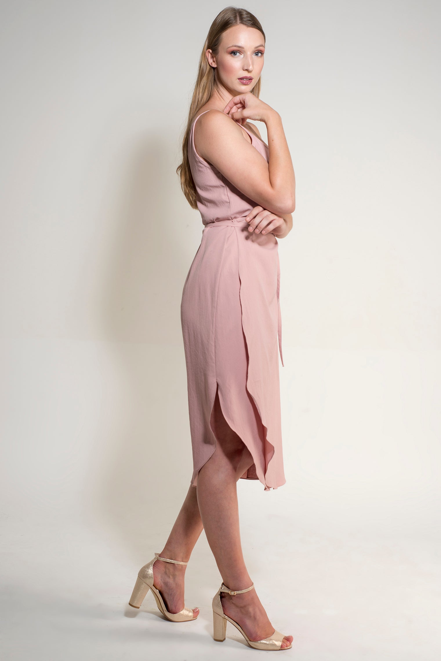 Kezia Wrap - Rose Pink