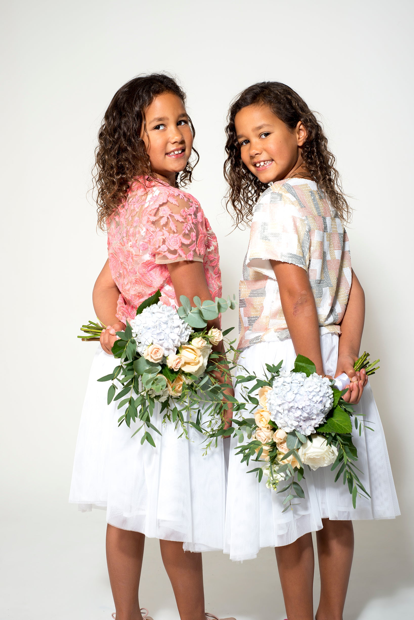 Custom Made Flowergirl Outfits