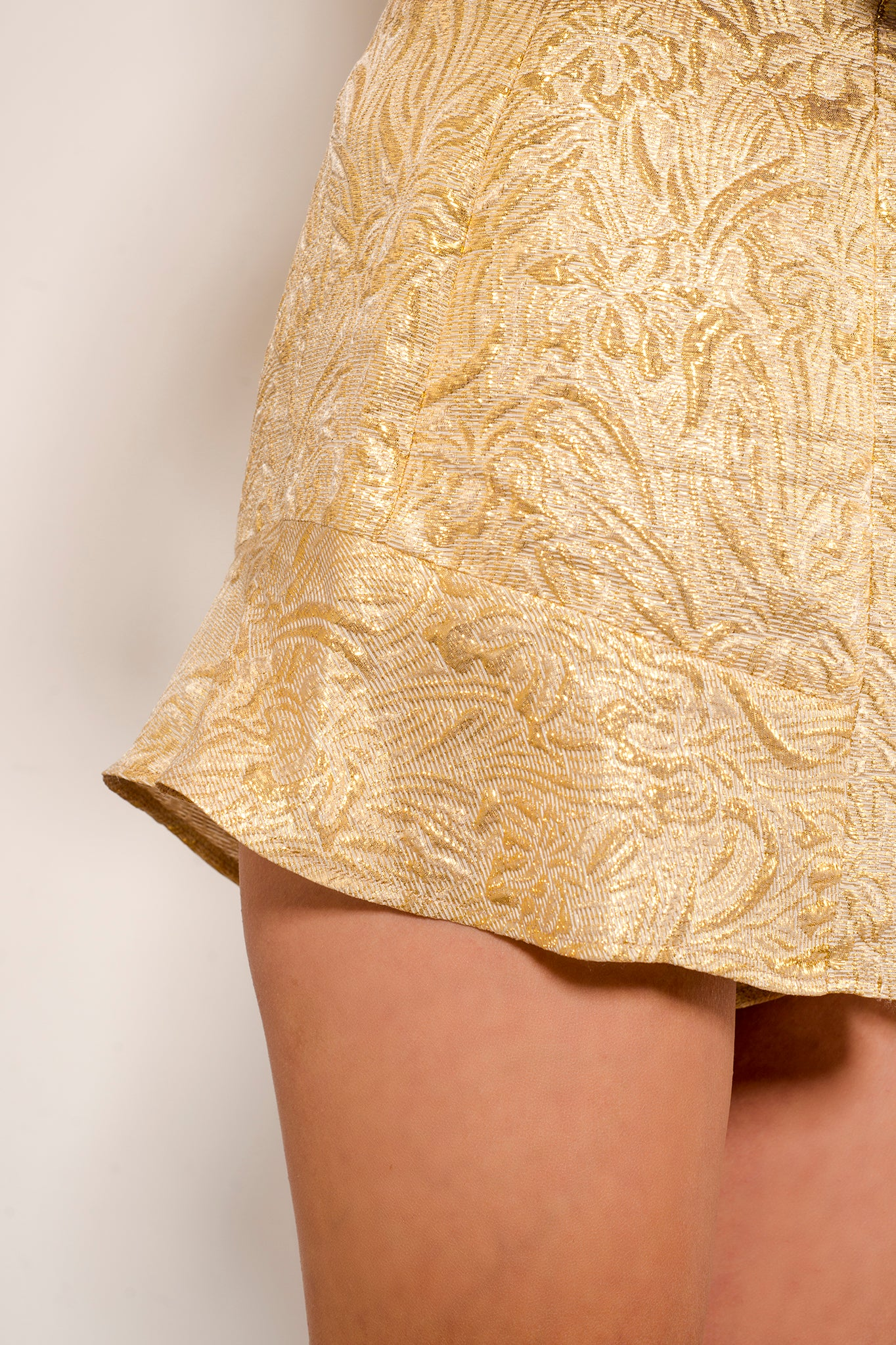 Five Star- Gold Silk Jacquard