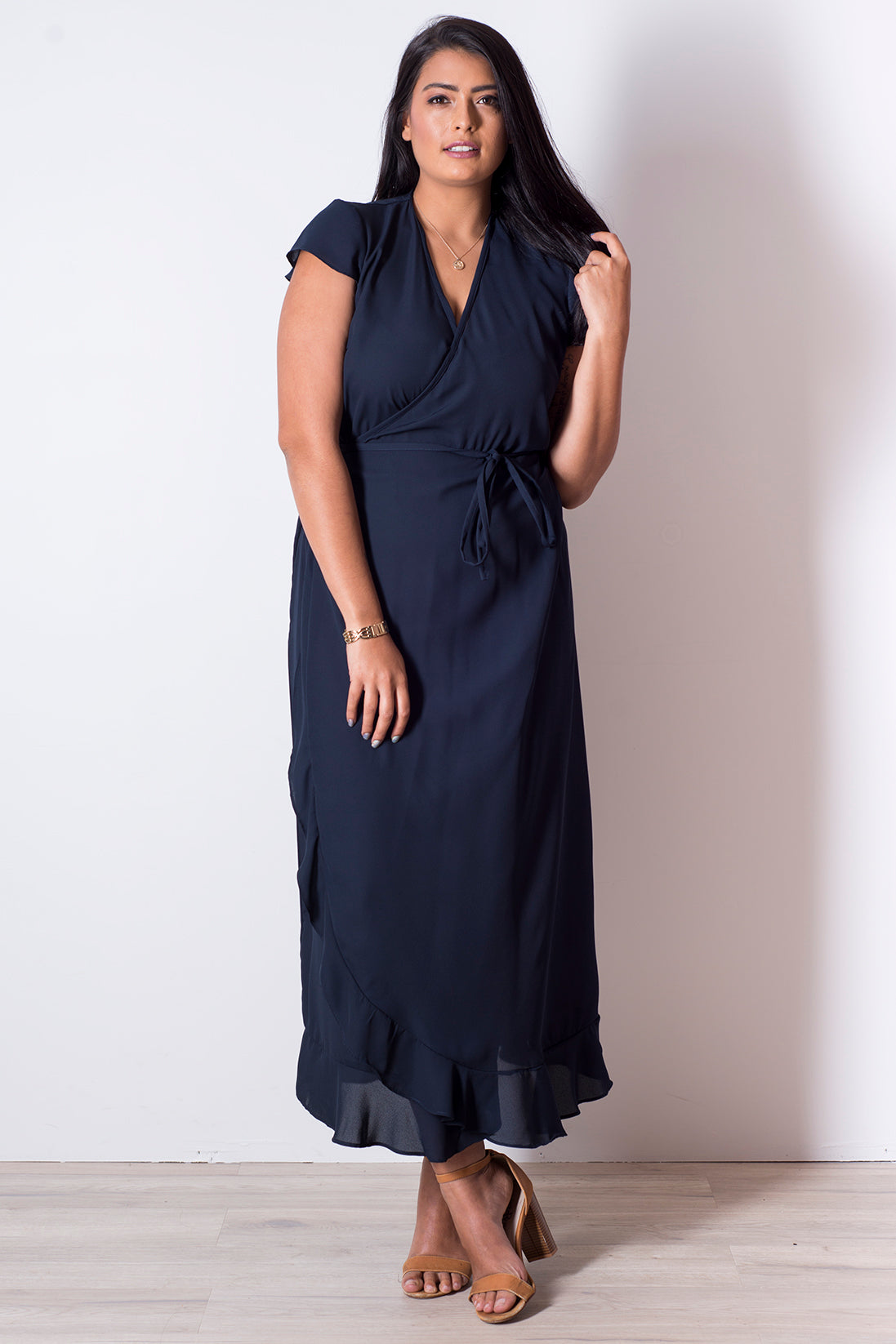 Indi Wrap - Dark Navy
