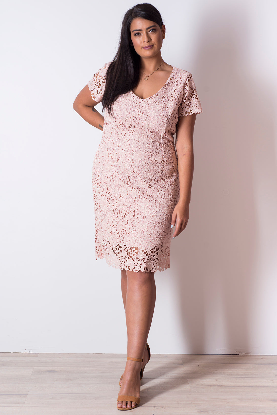 Valeria Dress - Blush