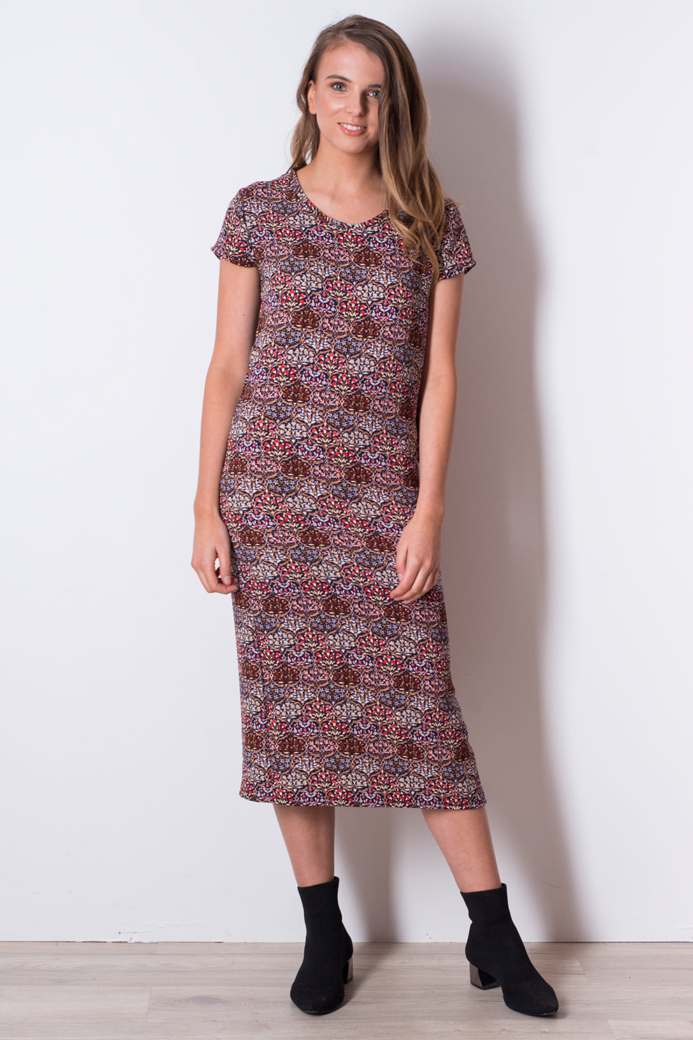 Play Dress - Bazzi Print