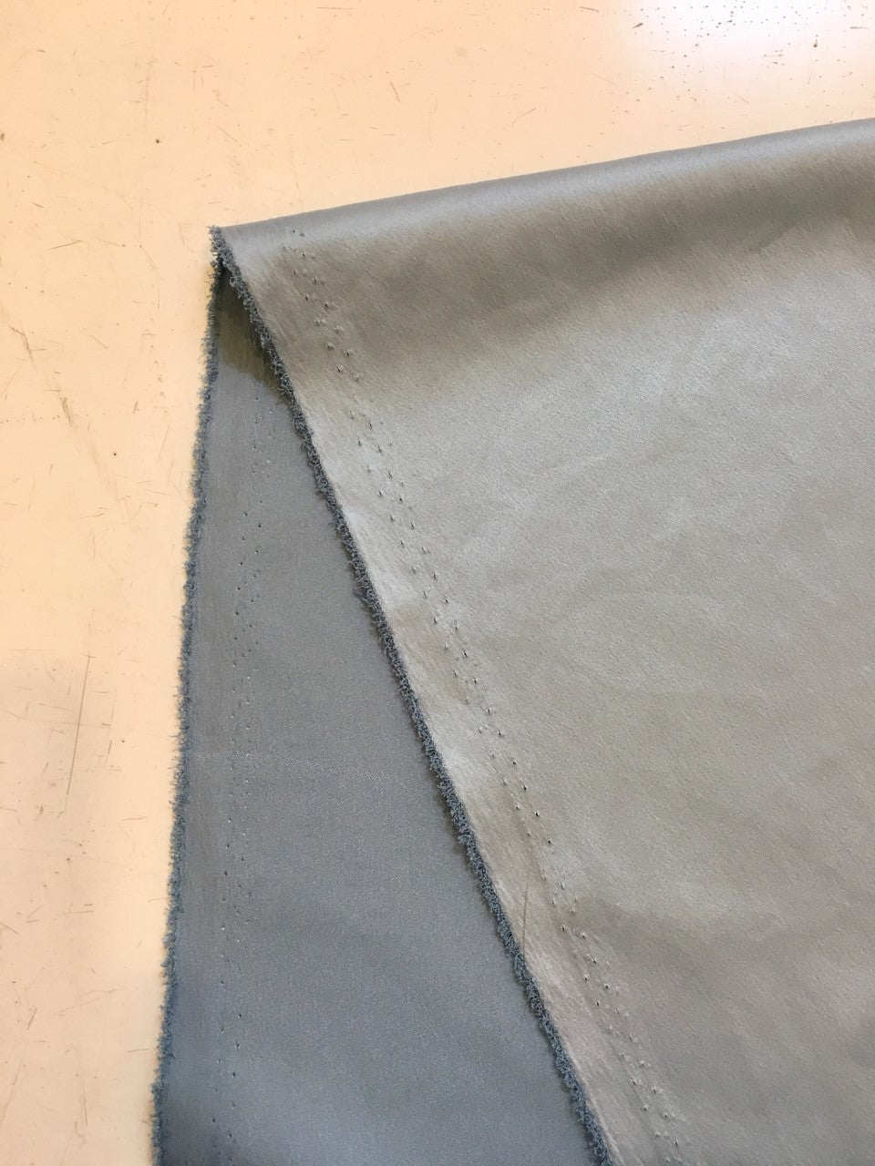 Babydoll Dusty Blue - Satin finish Fabric