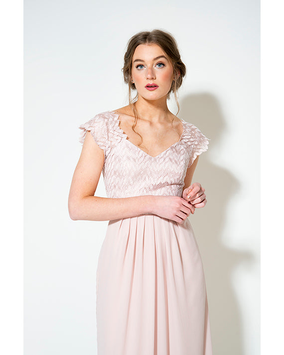 Elvery- Pink Lace.