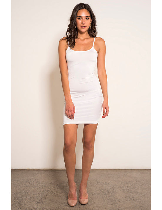 White Slip - Scoop Neckline