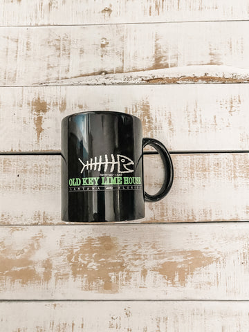 Old Key Lime House Bonefish Coffee Mug, Black
