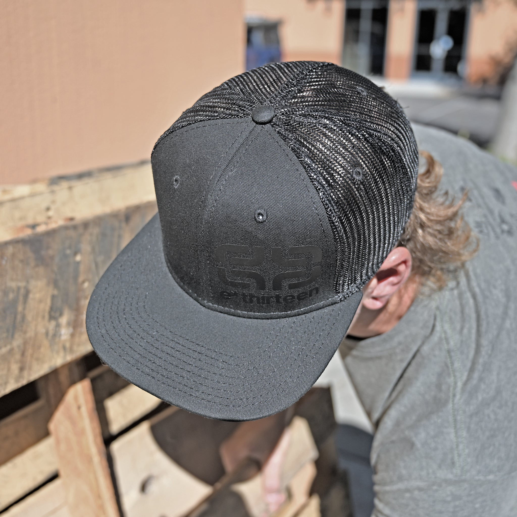 e*thirteen Icon Snap-back Hat