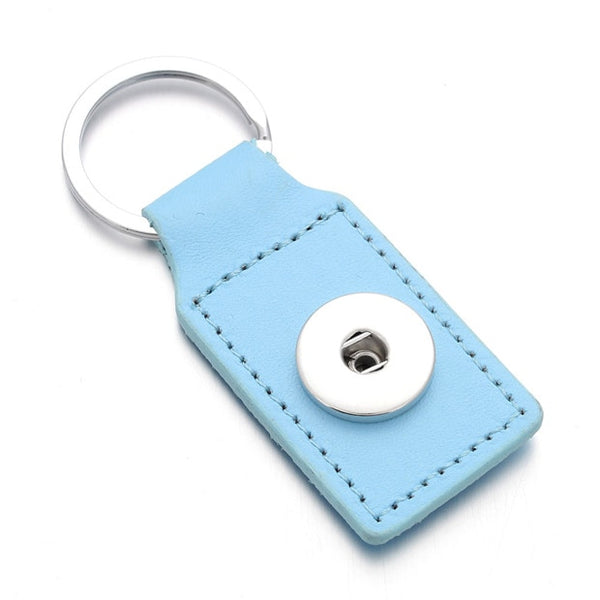 Leather Sandy Snap Key Chain 18mm