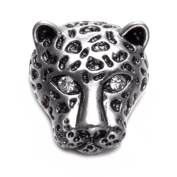 Metal Leopard Sandy Snap Button
