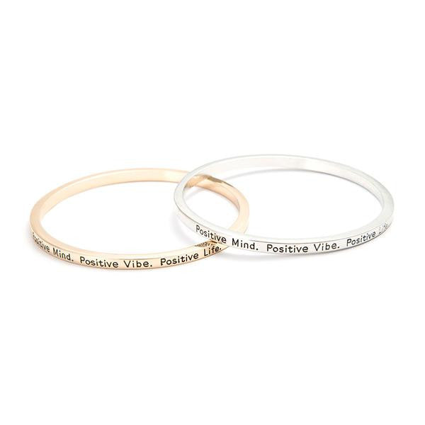 Positive Mind & Vibe Bangle