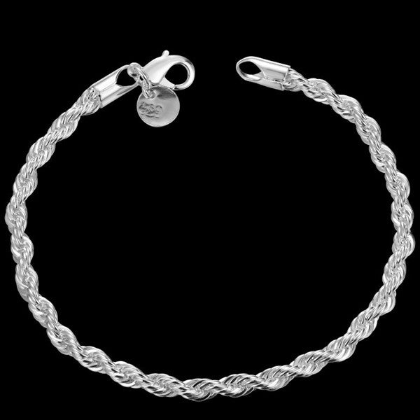 Twisted Singapore Chain Bracelet