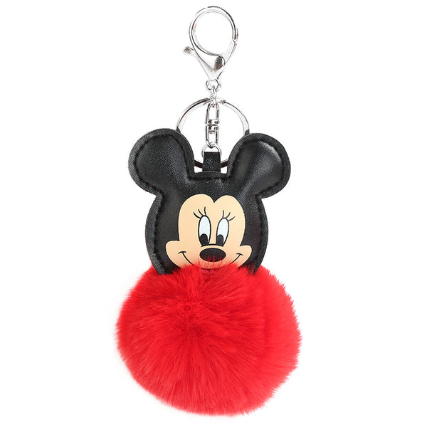 Fluffy Mouse Keychain