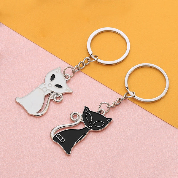 Cats Keychain Animal Bag Key Ring For Car 2019