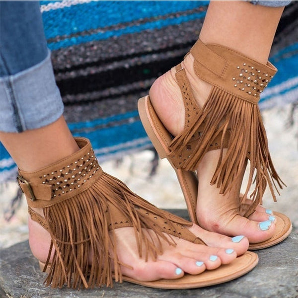 Hot Tassel Sandals With Flair For Summer Shoes 2019