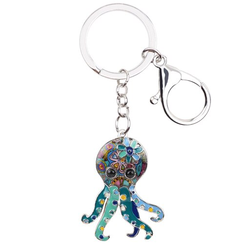 Octopus Key Chain, Ocean Lover