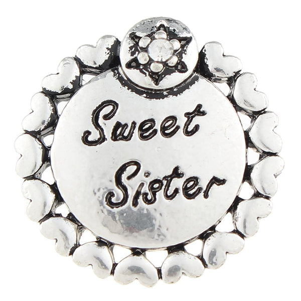 Sweet Sister Sandy Snap Button