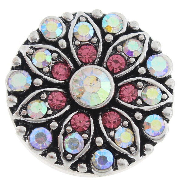18mm 20mm Crystal Sandy Snap Button