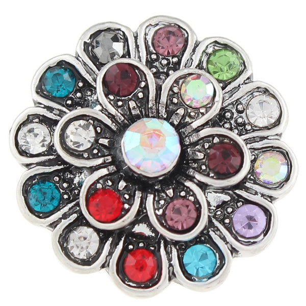 20mm Crystal Sandy Snap Button