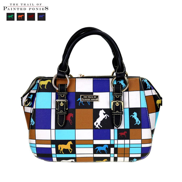 TPP03-9322 The Trail Of Painted Ponies Collection Sutton Satchel